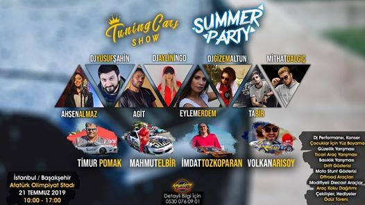 Tuning Cars Show Summer Party 2019