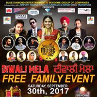 Diwali Music Fest 2017 Brampton
