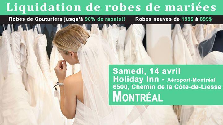 Montreal Pop up Wedding Dress Sale