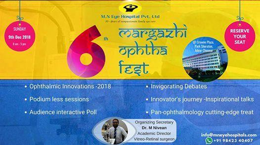 6th Margazhi Ophtha Fest 2018