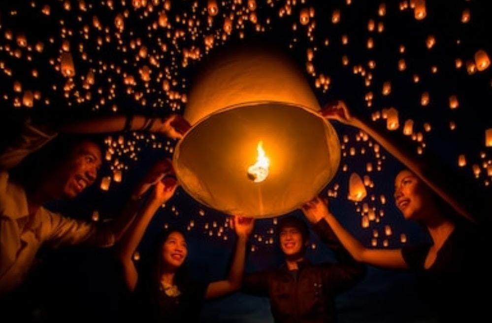 Barstow Sky Lantern Festival
