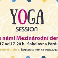 Yoga session - Oslava Mezinrodnho dne jgy