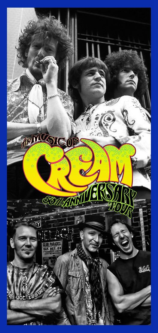 The Music Of Cream at King Center of the Performing Arts