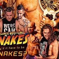 Freelance Wrestling Whyd It Have To Be Snakes