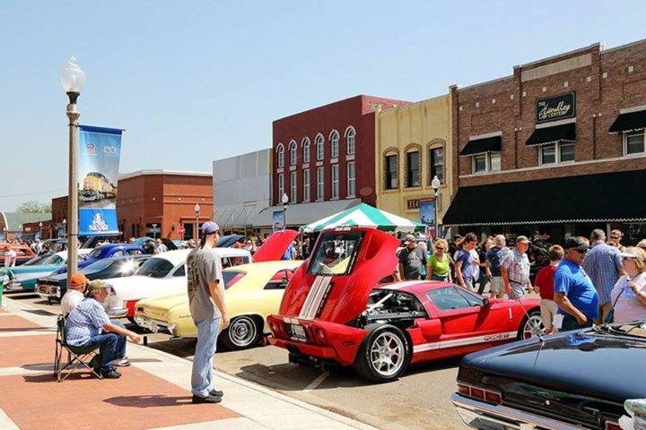 Fried Onion Burger Day Car Show At Downtown El Reno OK El Reno - Reno car show
