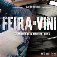 Feira de Vinil no Memorial da Amrica Latina- Entrada Gratuita