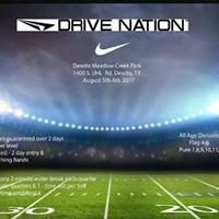 Nike Drive Nation Youth Football Showcase brought to you by CCE