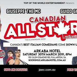Italian Canadian All-Stars Comedy Show