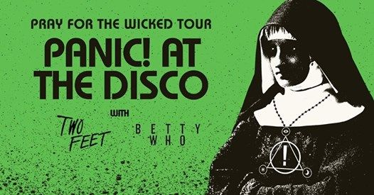 Panic At The Disco Pray For The Wicked Tour