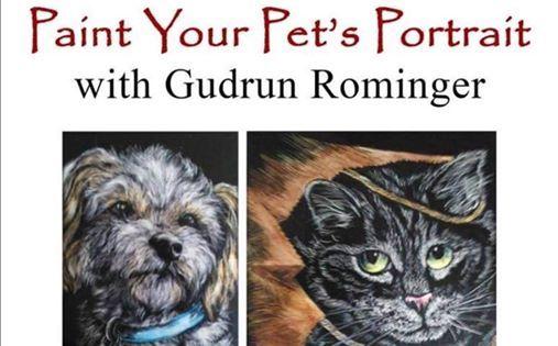 Pet Portrait Class by Gudrun Rominger