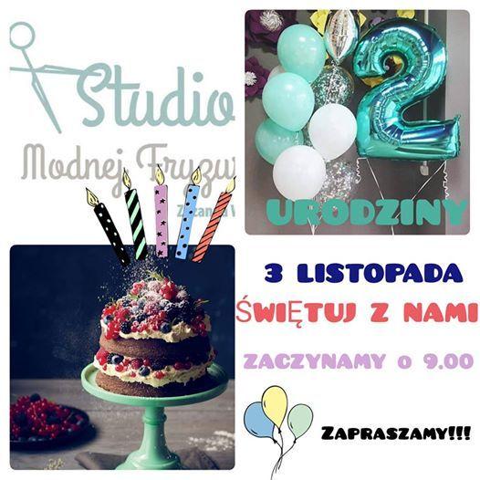 2 Urodziny Salonu At Studio Modnej Fryzury Stalowa Wola