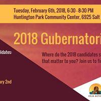Gubernatorial Candidates Forum