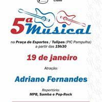 5 Musical com Adriano Fernandes