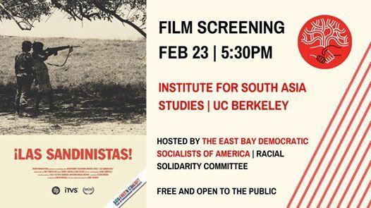 Las Sandinistas East Bay Film Screening