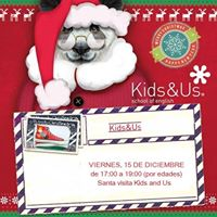 Visita de Santa Claus y concurso de dibujo