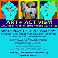 Planned Parenthood Art  Activism for Teens