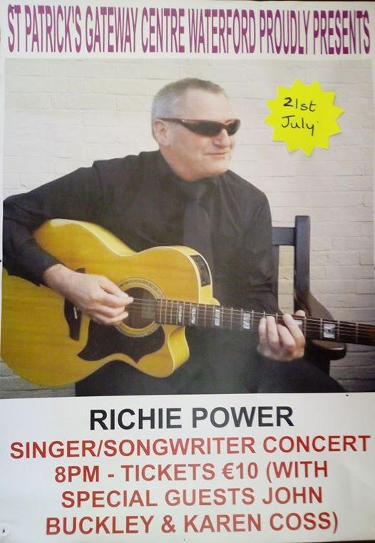 Richie Power with Special Guests - John Buckley & Karen Coss