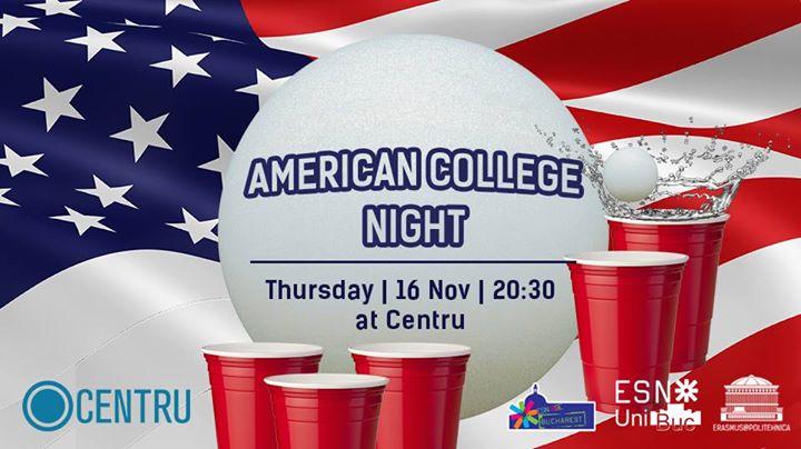 Erasmus in Bucharest - American College Night