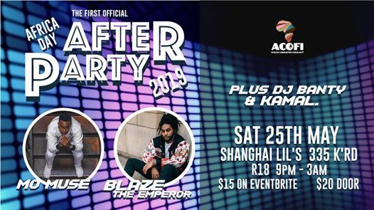 Africa Day After Party