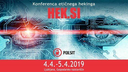 HEK.SI 2019 - Konferenca etinega hekinga