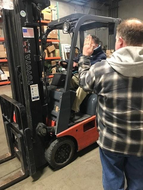 June 14th Forklift Certification Class Earlier Session At Power