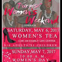 Womens Weekend 2017 &quotWalking In My Purpose&quot