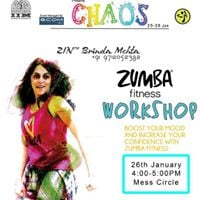Zumba Fitness Workshop  Chaos