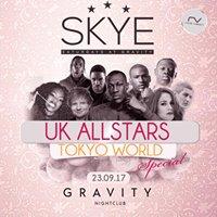 SKYE Saturdays  UK Allstars showcase  23.09.17