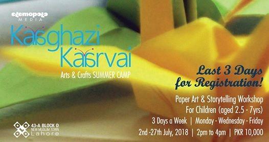 Kaaghazi Kaarvai - Summer Camp for Kids