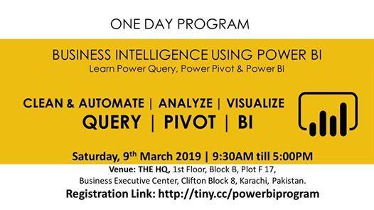 Business Intelligence with POWER BI (Transform Analyze & BI)