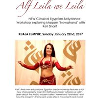 Classical Egyptian Workshop by Keti Sharif
