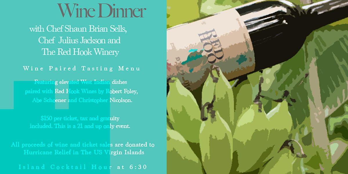 Island Hope Wine Dinner