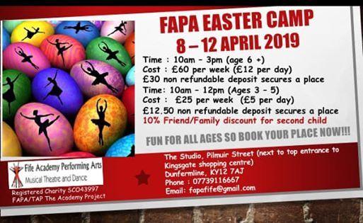 FAPA EASTER CAMP