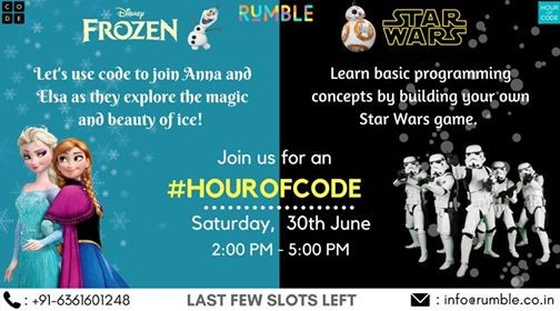 Hour of Code with Rumble (Ages 6 - 10) at Cub Tales, Mumbai