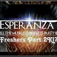 Esperanza- Till the music is gone lets party on.