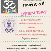 Open Day Om Chanti