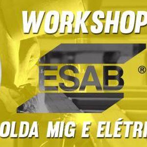 Workshop ESAB de Soldas MIG e Elétrica at RJ EPI Ferramentas Suprimentos e  Material de Limpeza, Rio de Janeiro 1a4e572b9f