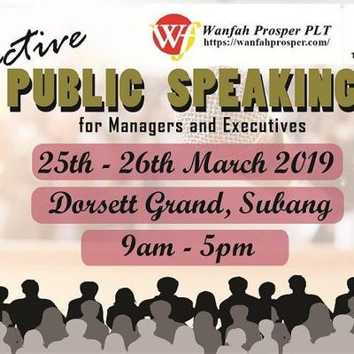 EFFECTIVE PUBLIC SPEAKING FOR MANAGERS AND EXECUTIVES
