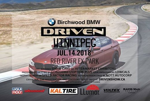 Driven Winnipeg Autoshow Presented By Birchwood Bmw Kal Tire And