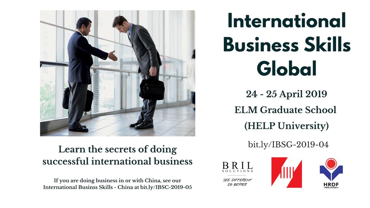 International Business Skills - Global