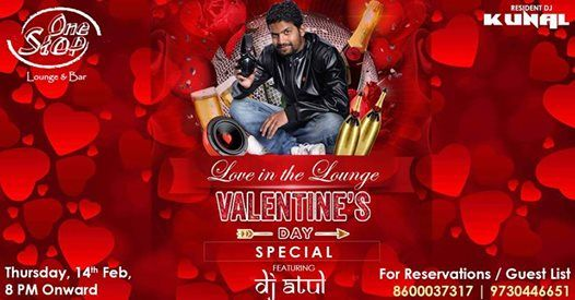 Love in the Lounge (Valentines Day Special) feat Dj Atul