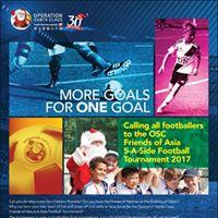 OSC Friends of Asia 5-A-Side Football Tournament 2017