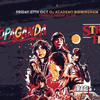Propaganda - Stranger things party  27.10.17  4 guest list