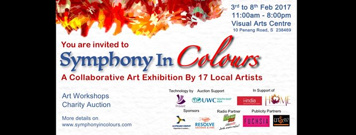 Symphony In Colours A Collaborative Art Exhibit by 17 Artists