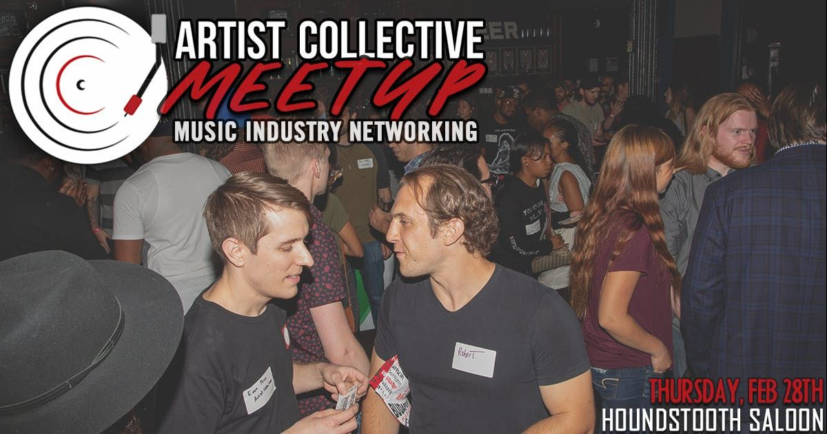 Artist Collective Meetup  Music Industry Networking in Chicago