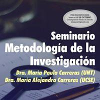 Seminario &quotMetodologa de la Investigacin&quot