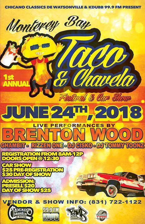 Monterey Bay TacoChavela Festival Car Show At Watsonville - Lowrider car show san francisco 2018