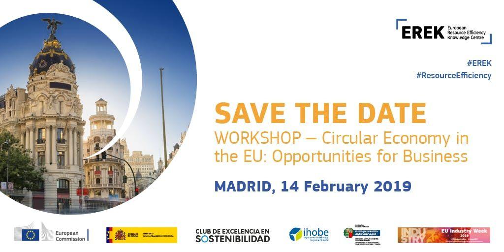 EREK Spain Workshop - Circular Economy in the European Union Opportunities for Business