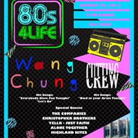 80s 4 Life featuring Just FAITH Wang Chung &amp Cutting Crew