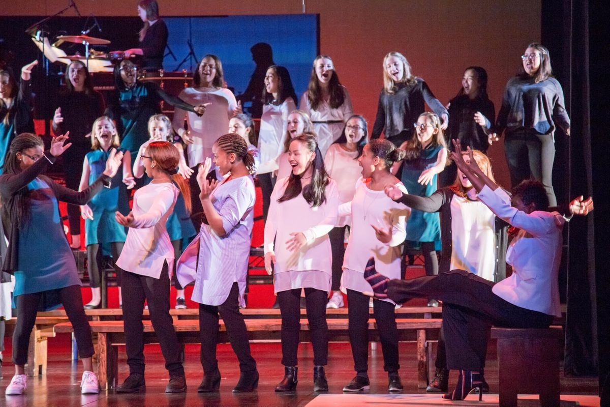New Amsterdam Presents Brooklyn Youth Chorus Album Release - Silent Voices